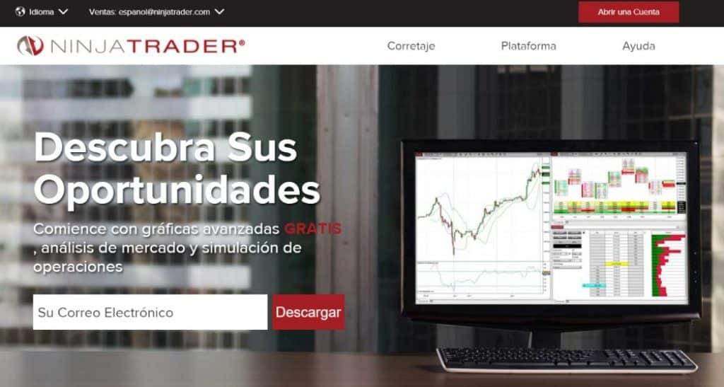 ninjatrader plataforma de trading para Futuros y Forex