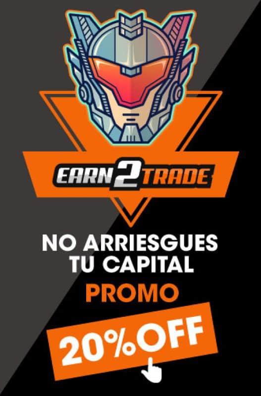 earn2trade descuento