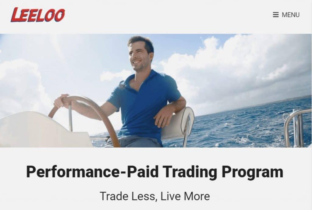 leeloo trading cuenta financiada