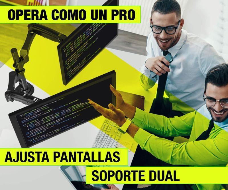 Soporte Dual para Monitor